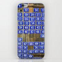 numbers iPhone & iPod Skins featuring Numbers by Marieken