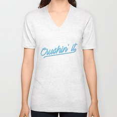 80's Abstract 1 Unisex V-Neck