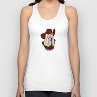 coven Tank Tops featuring Zoe Benson / American Horror Story: Coven by jerseytigermoth