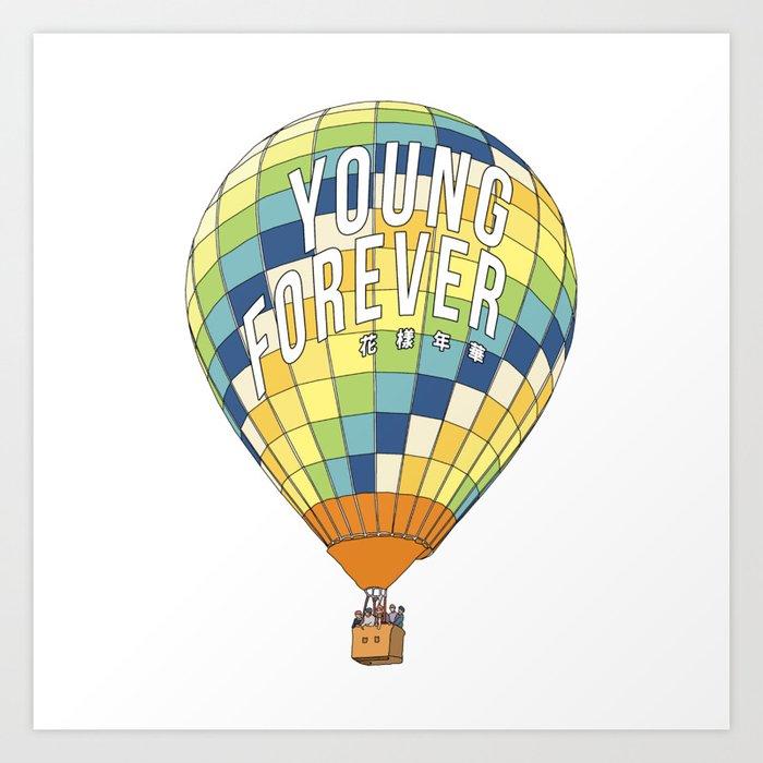 young forever Kunstdrucke