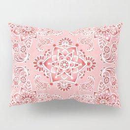 Pink Paisley Bandana Pillow Sham