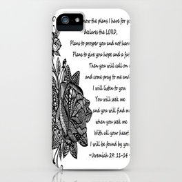 Hope For A Future iPhone Case