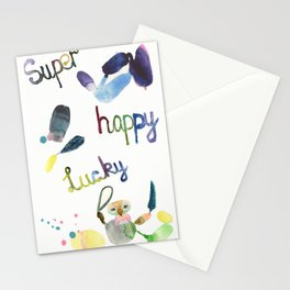 No. 635-G- Single Super Happy Lucky. Stationery Cards