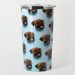 Bullmastiff Print Travel Mug