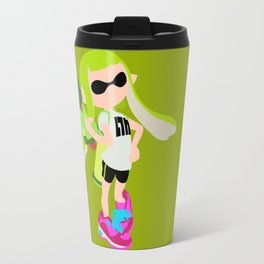 Inkling Girl (Green) - Splatoon Travel Mug