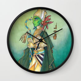 Wesir / Osiris Wall Clock