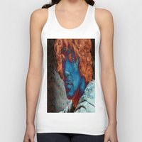caleb troy Tank Tops featuring Troy by Robin Curtiss