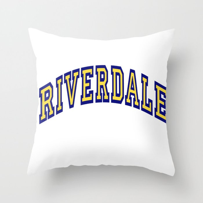 Riverdale Throw Pillow By Martianred Society6
