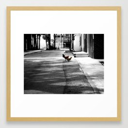 Urban Dwellers Framed Art Print