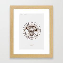 Caimán de Sanare - Trinchera Creativa Framed Art Print