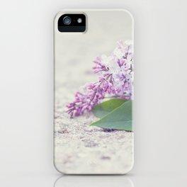 C'est le temps des lilas iPhone Case