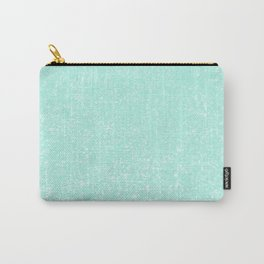 Mint Pattern #3 #Granite #Speckles #decor #art #society6 Carry-All Pouch