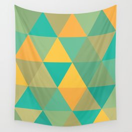 tropical rainstorm Wall Tapestry
