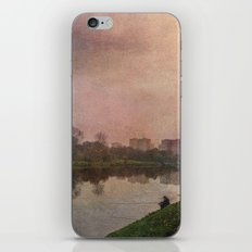 Fisherman (stylized watercolor) iPhone & iPod Skin
