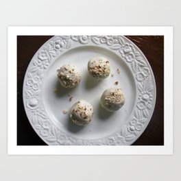 Fruit Cake Truffles: Take One Art Print