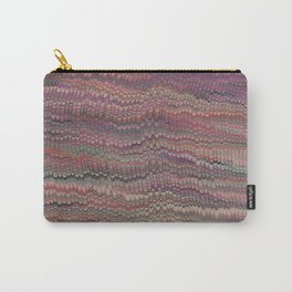 Mirrored Symmetry Multicolored Fall Carry-All Pouch