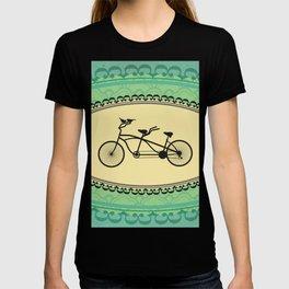 Love Birds on Bikes T-shirt