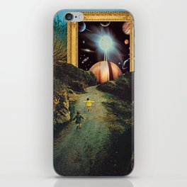 Run, run, dreamers iPhone Skin