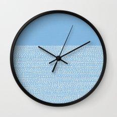 Riverside - Placid Blue Wall Clock