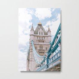 London's Tower Bridge Metal Print