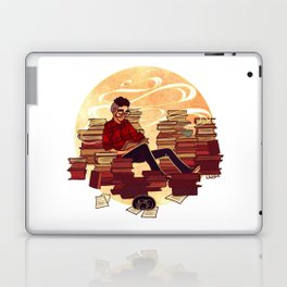 Book Lover Boy Laptop & iPad Skin