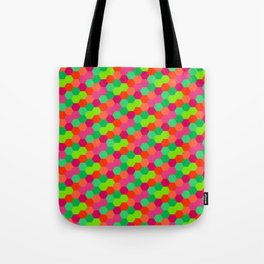 Hexagonal Pattern Tote Bag