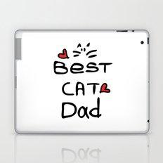 Best cat dad Laptop & iPad Skin