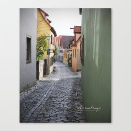 Rothenburg 10 Canvas Print