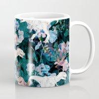 jurassic park Mugs featuring Jurassic by Bobo1325