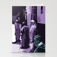 arab Stationery Cards featuring Arab World by Sergio Silva Santos