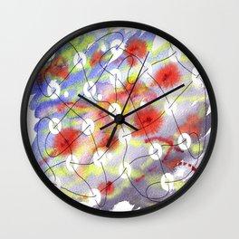Interlinked Wall Clock