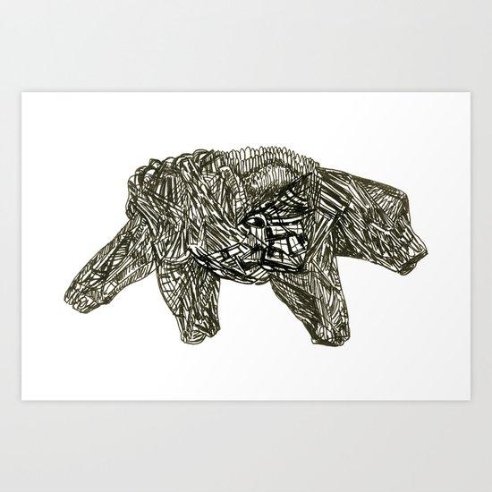 2012 a Art Print
