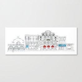 Camden Town Live Canvas Print