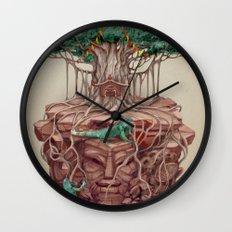 tree land Wall Clock