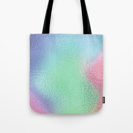 Simply Metallic in Holographic Rainbow Tote Bag