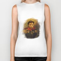 replaceface Biker Tanks featuring Hugh Jackman - replaceface by replaceface