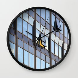 Abstract windows. Wall Clock