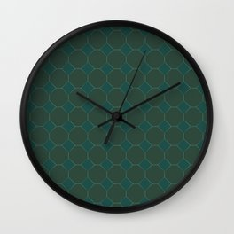 Forest Diamonds 2 Wall Clock