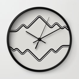 Mountain Vision Wall Clock