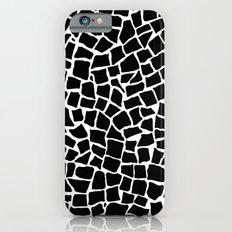 British Mosaic Black and White iPhone 6s Slim Case