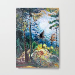 Emily Carr - British Columbia Landscape - Canada, Canadian Oil Painting - Group of Seven Metal Print