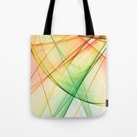tequila Tote Bags featuring tequila sunrise by Maureen Popdan