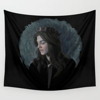 ruby Wall Tapestries featuring Ruby by Armellin