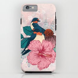Barn Swallows iPhone Case