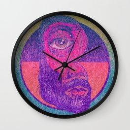 Beard B Wall Clock