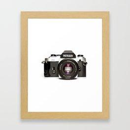 Nikon Camera Style Framed Art Print