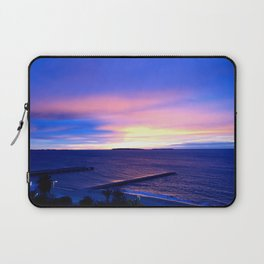 Blue Sunset in Cannes La Bocca Laptop Sleeve