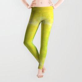 """""""Lemon jello"""" triangles design Leggings"""
