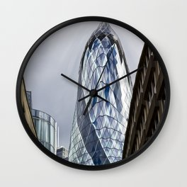 The Gherkin Condom Wall Clock