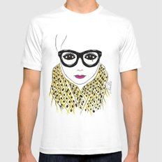 Alicia Frank Custom 2X-LARGE Mens Fitted Tee White